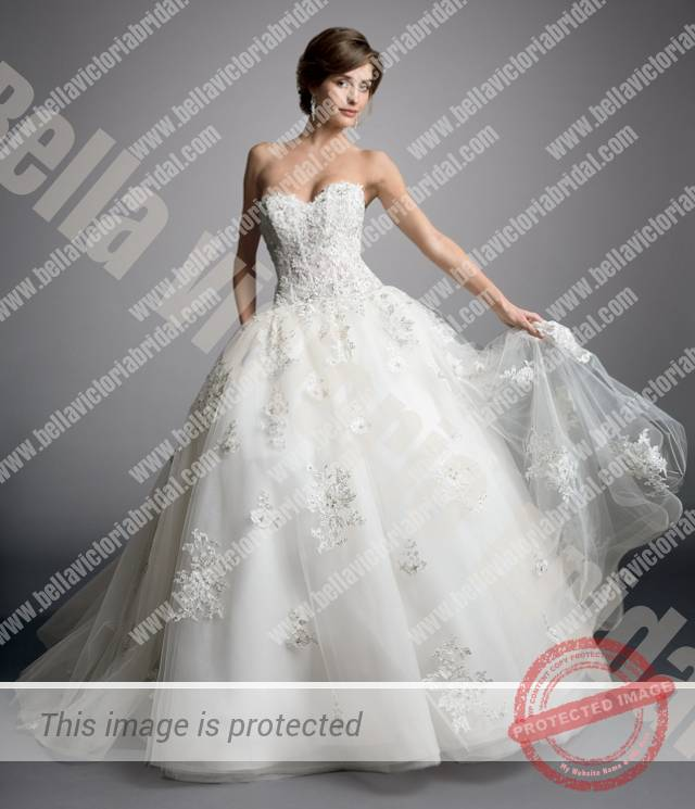 Search Bridal Gowns 1523 A Front